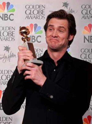 Jim Carrey e il GOlden Globe