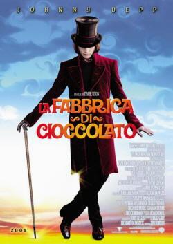 Johnny Depp interprete di La fabbrica di cioccolato