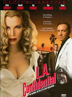 Kevin Spacey nel film L.A. confidential