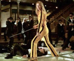 "Locandina del film ""Kill Bill"" Vol.1"