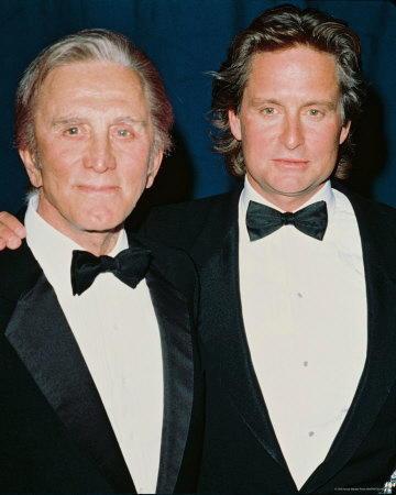 Michael Douglas col padre Kirk