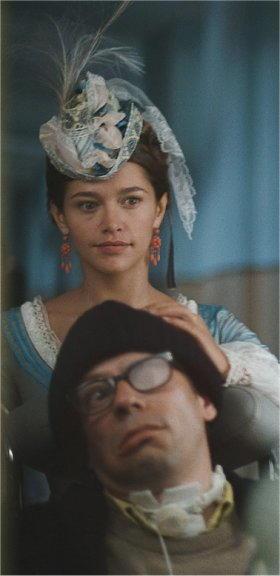 Mathieu Amalric nel film Lo scafandro e la farfalla