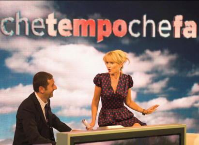 Luciana Littizzetto nella trasmissione Che tempo che fa