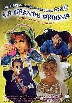 Locandina del film La grande prugna, con Luciana Littizzetto