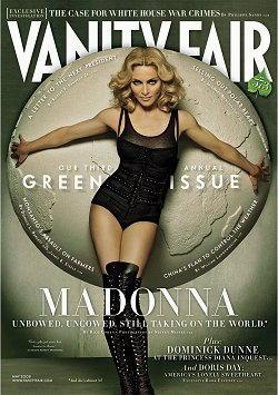 Madonna Ciccone sulla copertina di Vanity Fair