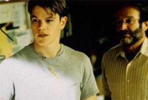 Matt Damon e Robin Williams in Genio Ribelle