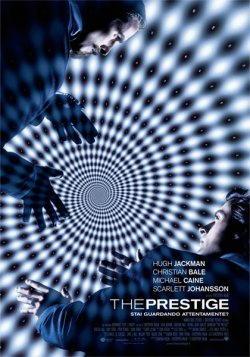 Michael Caine nel film The prestige