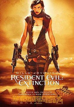 Milla Jovovich in Resident evil Extinction