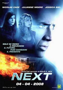 Nicolas Cage nel film Next