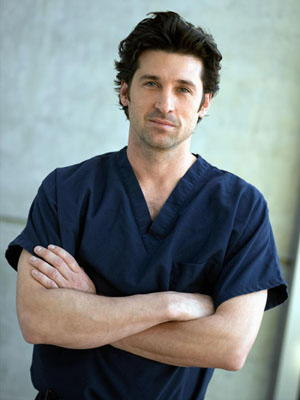 Patrick Dempsey in Grey's Anatomy Derek Shepherd