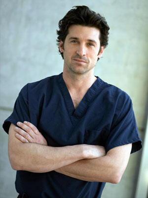 Patrick Dempsey in Grey's Anatomy Derek Shepherd
