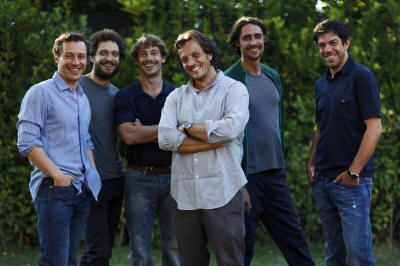 Pierfrancesco Favino e il cast de L'Ultimo Bacio