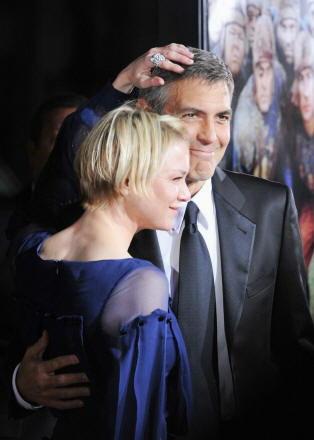 Renée Zellweger e George Clooney