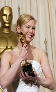 Renée Zellweger vince l'Oscar