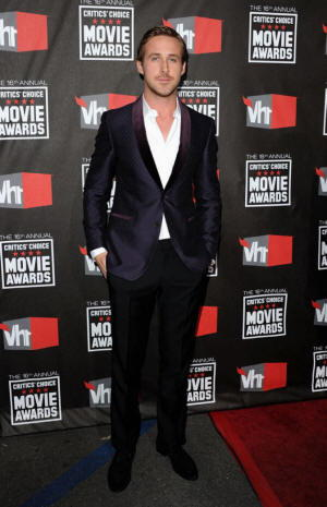 Ryan Gosling foto al Movie Awards