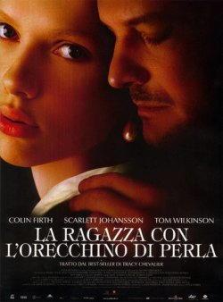 Scarlett Johansson La ragazza con l'orecchino di perla