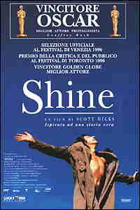 Shine - Locandina