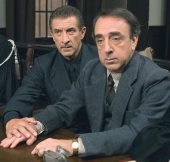 Silvio Orlando ed Ezio Greggio