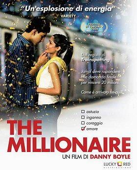 "Locandina del film "" The millionaire """