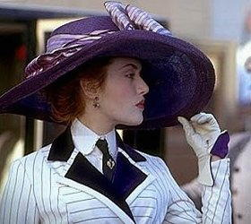 Kate Winslet nel film Titanic
