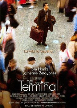 Tom Hanks nel film The terminal