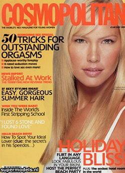 Valeria Mazza sulla copertina di Cosmopolitan