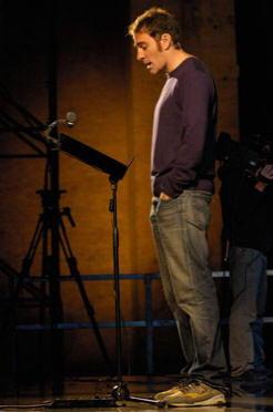 Valerio Mastandrea in recitazione