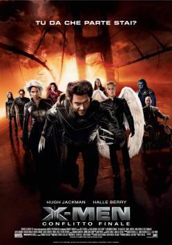 Locandina del film X man conflitto finale