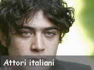 Cinema: Indice degli attori italiani, foto e biografia