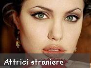 Belle e famose Attrici straniere biografia e foto