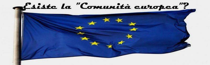 esiste la comunita europea
