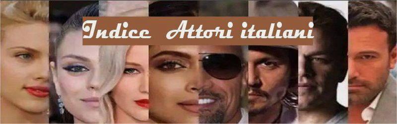 Indice attori italiani