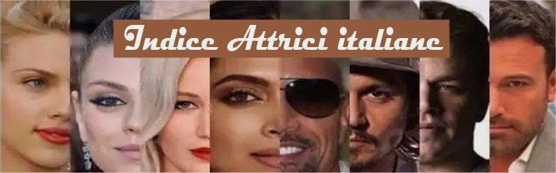 Indice attrici italiane