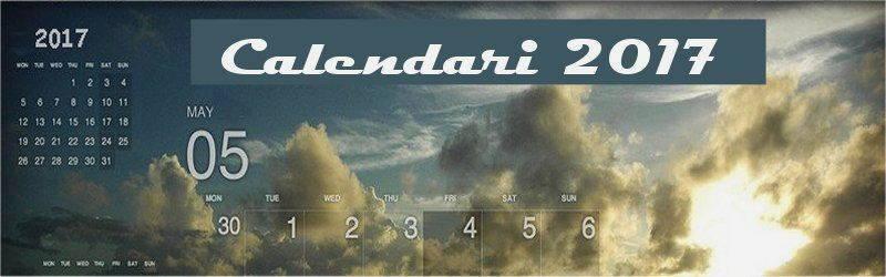 Indice calendari desktop 2017