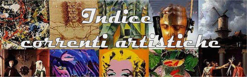 Indice correnti artistiche