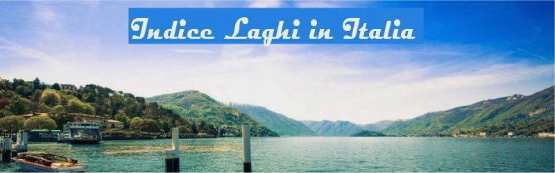 Indice laghi in italia