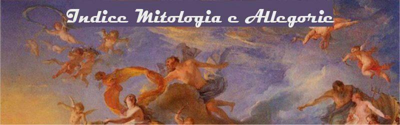 Indice mitologia e allegorie
