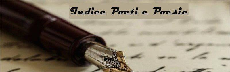 Indice poesie e biografia poeti