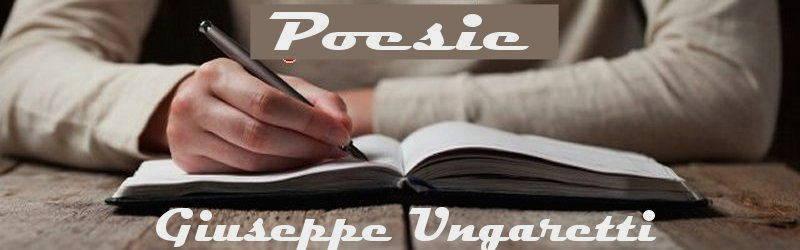 poesie e poeti italiani e stranieri Giuseppe Ungaretti