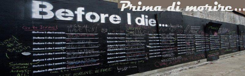 prima di morire