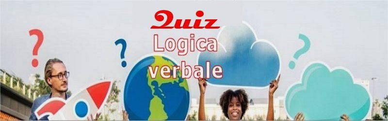 quiz logici verbale