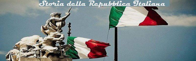 storia repubblica italiana