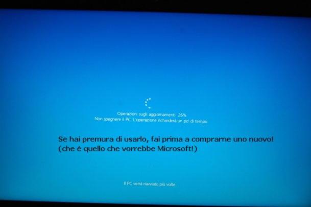 gli aggiornamenti del sistema operativo