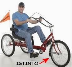 guidare il triciclo con l istinto