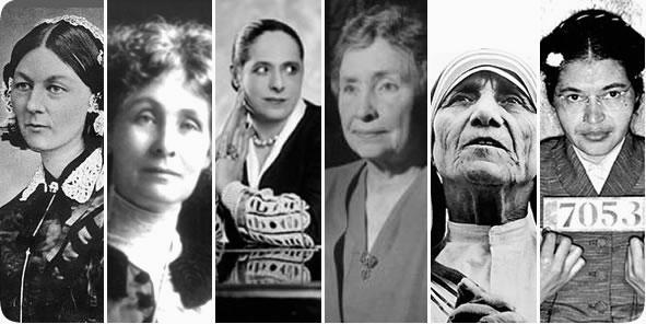 fesdta della donna, sei donne generose