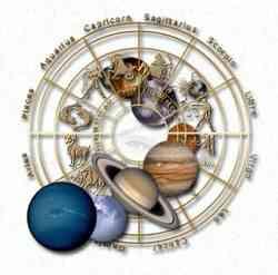 Gli astri e segni zodiacali