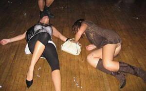 Ragazze ubriache