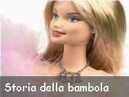 La storia delle bambole Barbie