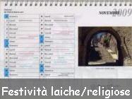 Festività civili e religiose