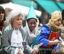 Bambini, i più felici a Carnevale